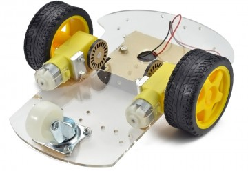 Hot-For-DIY-Motor-Smart-Robot-2WD-Car-Chassis-Kit-Speed-Encoder-Battery-Box-Remote-Control